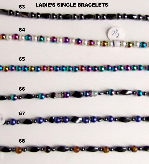 Ladies Single Bracelets