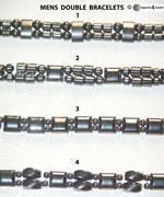 Mens Double Bracelets
