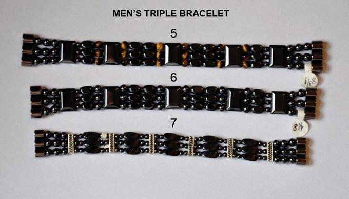 Men Triple Bracelet